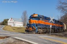 PATAPSCO, MD: LAWNDALE ROAD CROSSING 1/16/14