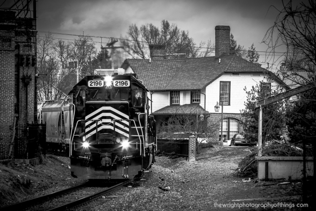 86 passes south by the former Cumberland Valley Station in Martinsburg.
