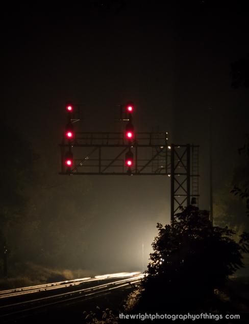 Tuscarora signals on the CSX Metropolitan Sub