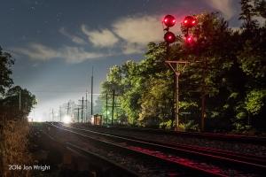 APPROACH ILLUMINATED: Shenandoah Junction, WV