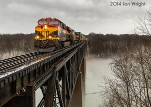 NS 203, SHEPHERDSTOWN WV, POTOMAC RIVER CROSSING, NS H LINE