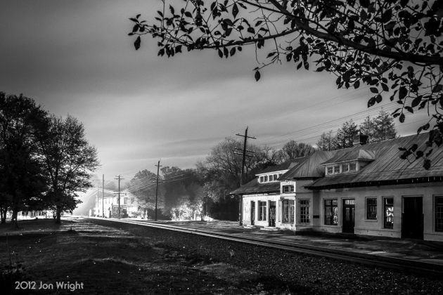 GHOST TRAIN: Travel back in time as a Norfolk and Western train slowly arrives to make a station stop at Boyce, VA. Fast forward to October 2012 and witness what seems like a ghost train arriving just in time for Halloween.