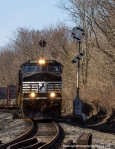 After the northbound 777 clears, V86 begins its journey south and out of FrontRoyal.