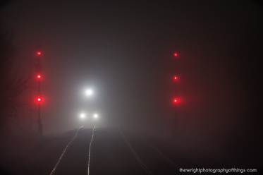 FOGGY APPROACH, SHENANDOAH JUNCTION WV