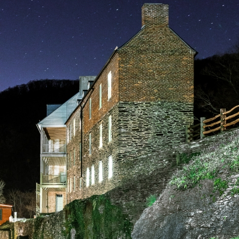 HOUSE ON A BLUFF, HARPER'S FERRY