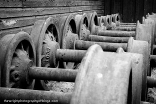 WHEEL SETS, SOME DATING TO THE 1860'S
