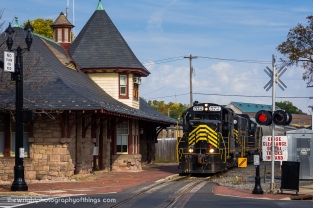 The Baltimore and Ohio Railroad station built in 1893 still stands along the CSX/Winchester and Western mainline through downtown Winchester. Until 2013, the upper floor housed the headquarters of the W&W when it was moved to Inwood, WV.