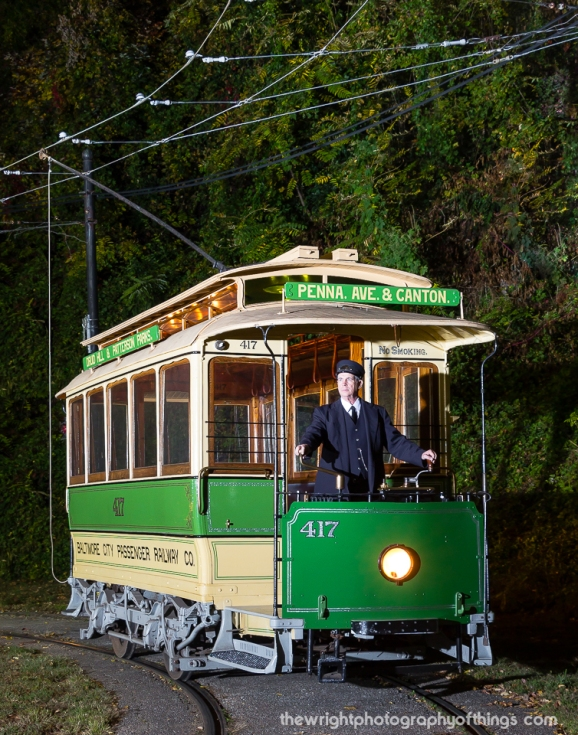 Car 417, built by the Baltimore City Passenger Railway as a horse car in 1884, later re-built as a cable car trailer, and finally into an electric car in 1895, is the Baltimore Streetcar Museum's newest restoration. This car operates on special occasions and is reported to be the oldest operating electric streetcar in America.