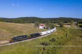 """On Tuesday, September 3rd, 2019 we find the Winchester and Western turning from Hogue Creek, the """"Sandman"""" runs into Indian Hollow to begin the westward climb up Gainesboro Hill, the final natural barrier between Winchester, VA and Gore."""