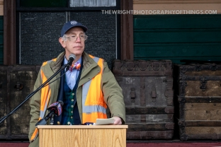 """""""THE EAST BROAD TOP IS BACK"""" Words spoken by Henry Posner, teh new Chairman of the East Broad Top Foundation that purchased the railroad and announced it on February 14, 2020."""