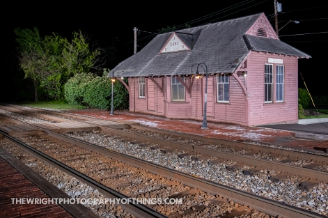B&O STATION AT DICKERSON, MD