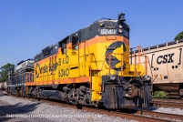 The days helper engines include SBVR 6240 and 6604 wearing the South Branch Valley's predecessor paint schemes.