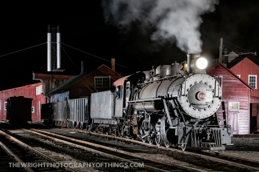 EBT #17 is working the yard at Rockhill after returning from Robertsdale with a set of bad ordered cars. Who would have thought even this scene could be replicated in 2020 albeit with smoke bombs. Many thanks again to Lerro Photography and the East Broad Top Foundation.